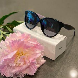 🔹Dior Sunglasses/ Black-Blue -Lilac